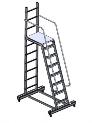 21, Special Project Ladder, Special Project Scaffold, Special Project Portable Ladder, Stair Types Architecture, Ready Ladder Prices, Stair Models, External Stair Models, Home Stairs, Exterior Stair Types, Mobile Ladder Standards, Duplex Stair Prices